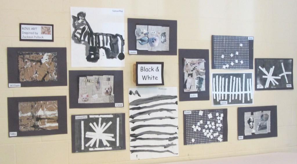 Black and White Aras a Theme