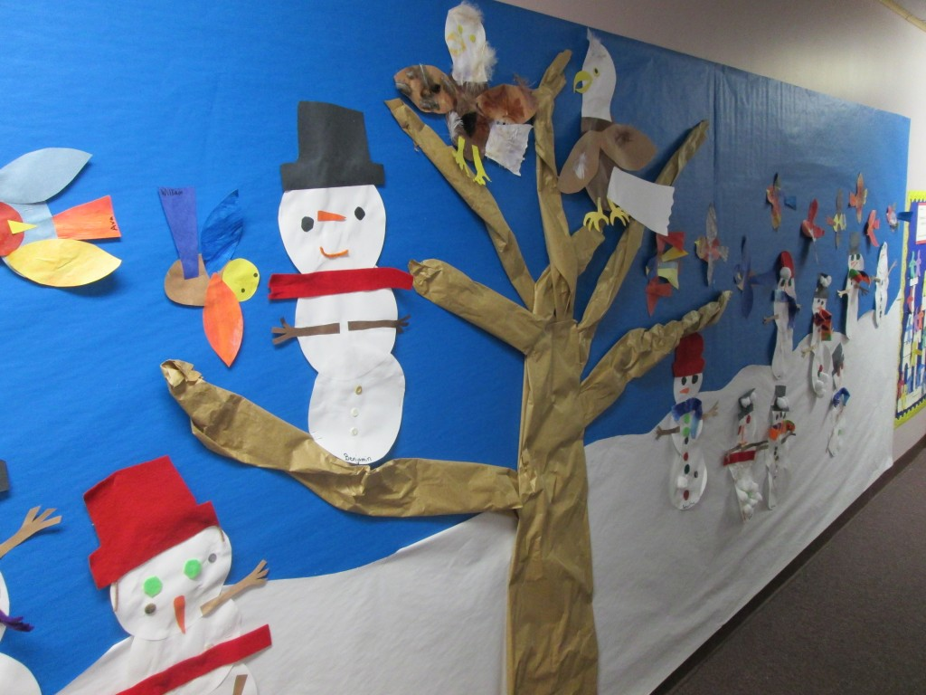snowpeople bulletin Board
